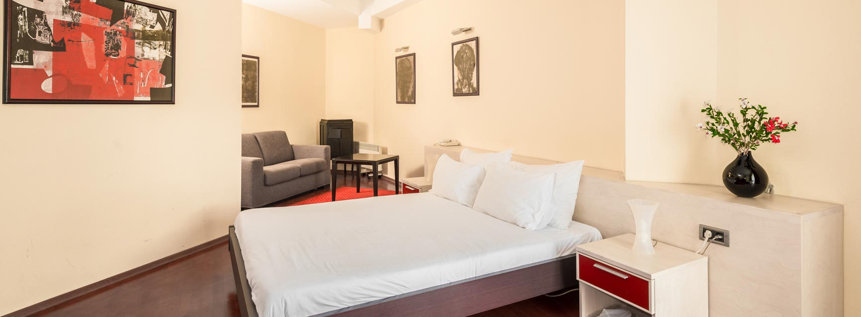 Pelister hotel room